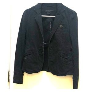 Marc Jacobs blazer with inner floral trim detail